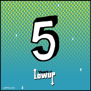 5 Years Of Lowup ep Cover
